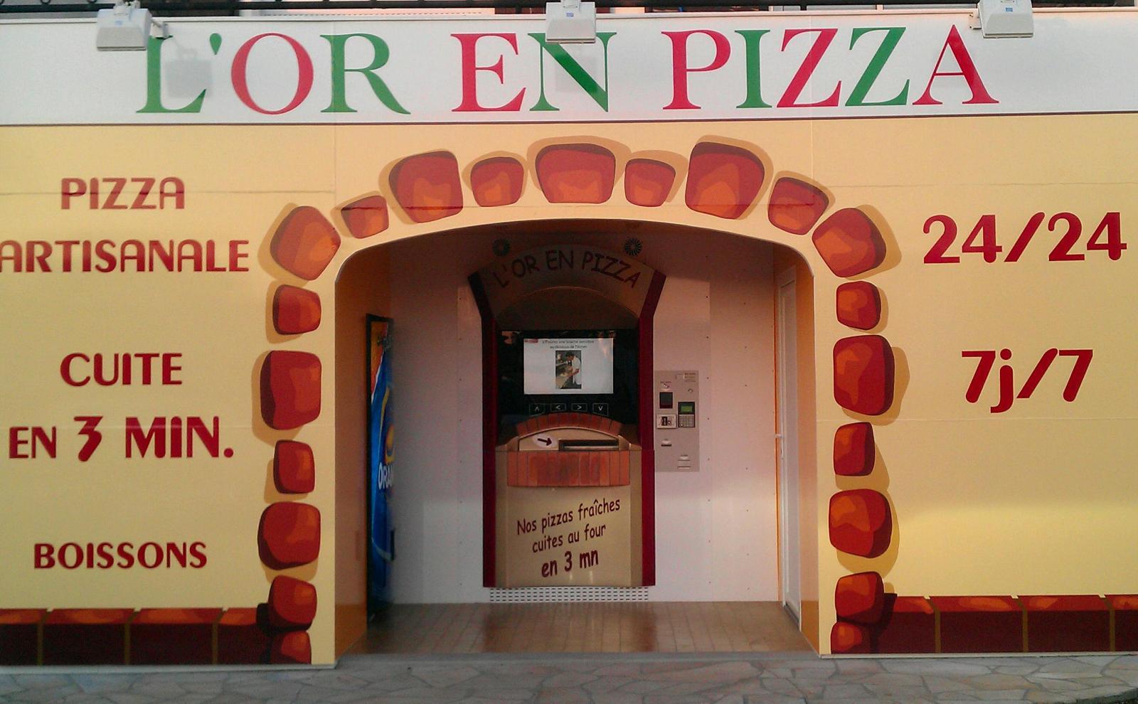 Distributeur automatique à pizza Adial