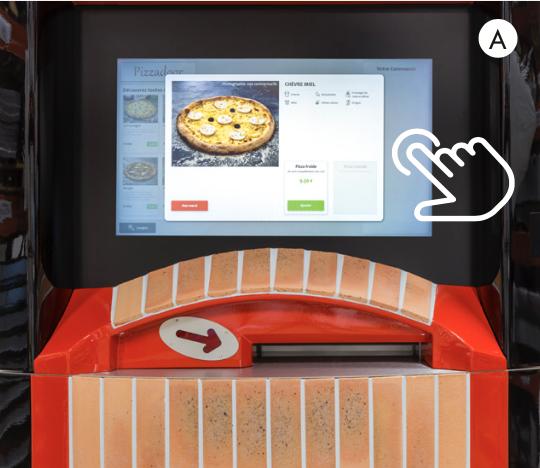 4. Pizzadoor - ecran tactile