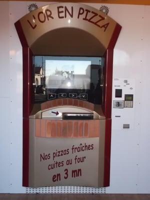 Distributeur automatique de pizza adial