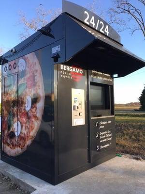 Bergamo pizzas distributeur automatique de pizzas Foodtech france Gagner du temps et de l argent 2020