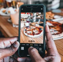 réseaux sociaux pizzadoor