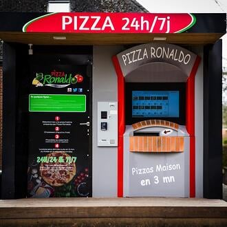 ronaldo pizza Distribution automatique de pizza adial pizzadoor 2020 avis